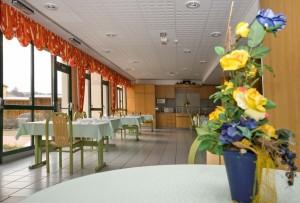 Salle à manger de la Résidence Ditschviller